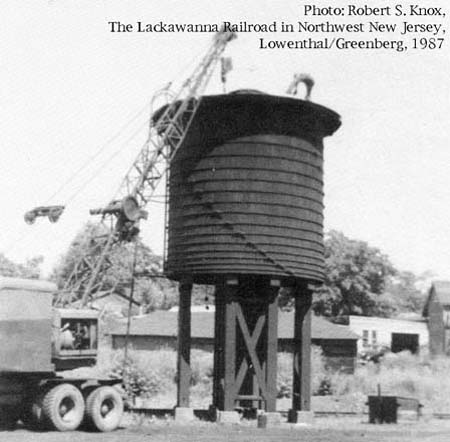 Newton's water tank comes down